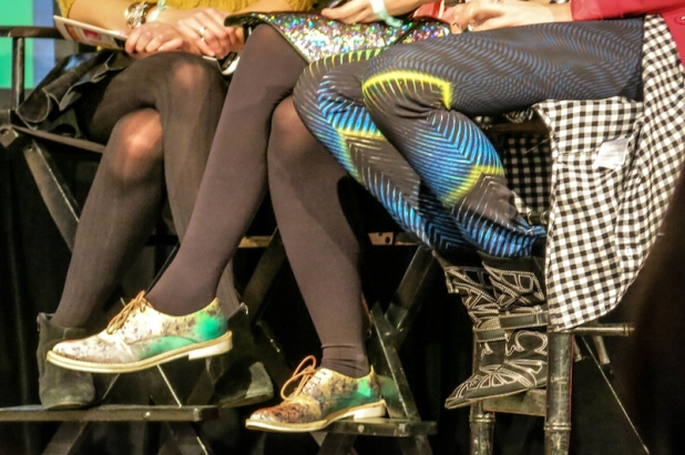 STYLE BUBBLE AND MAN REPELLER'S KICK-ASS KICKS!