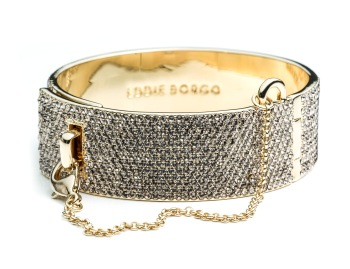 Eddie Borgo x The Webster Collection: PAVE SAFETY CHAIN CUFF
