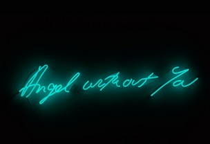 MOCA: Tracey Emin, Angel Without You (2012)
