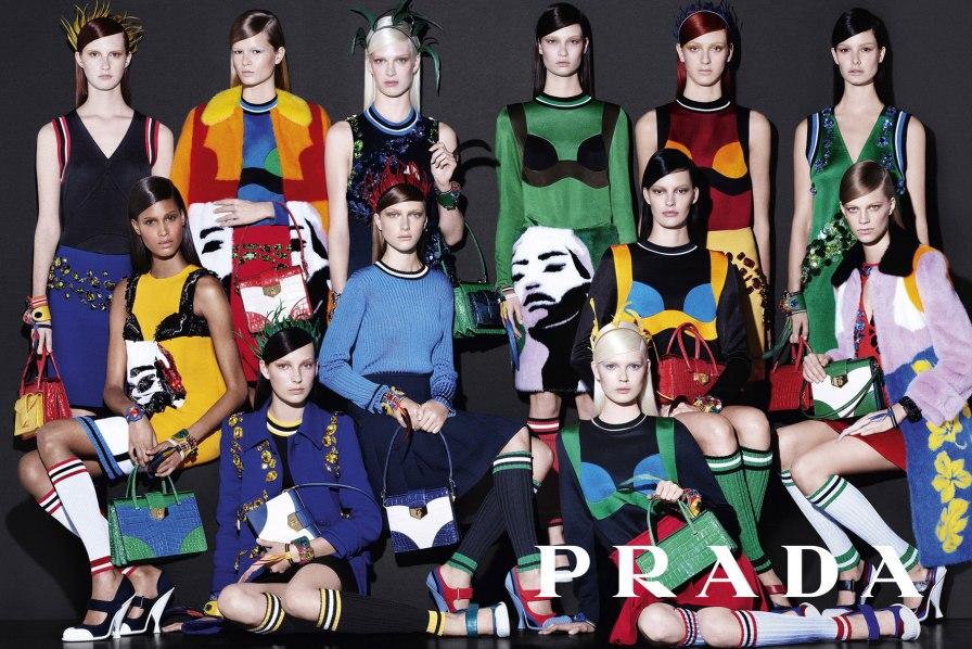 Prada Spring 2014 Campaign